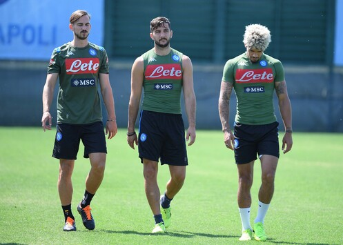 Napoli: il report dell'allenamento odierno - Campania Nel Pallone